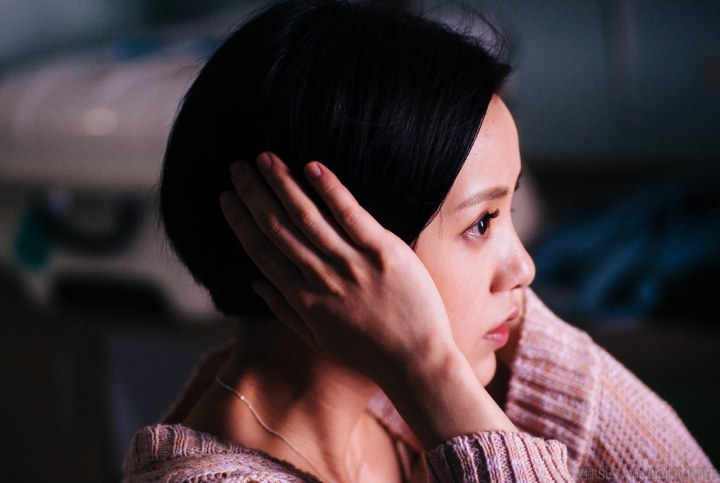 Kuo dials down her usually cutesy image to play the conflicted Pai Hui-hua. Credit: Singapore Chinese Film Festival