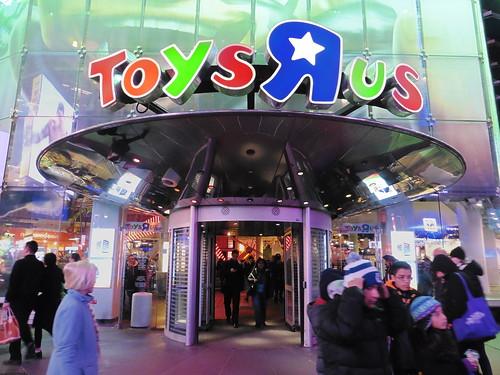 Tiendas y lugares frikis en Nueva York: Toys 'R' Us