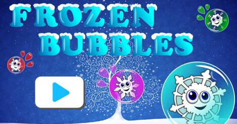 Joegames frozen bubbles