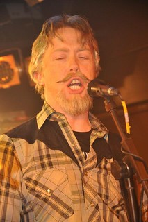 Jim McGurk of Trucker Diablo at Diamond Rock Club, March 2015