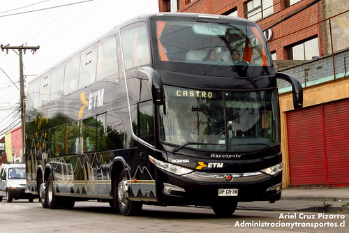 Buses ETM - Puerto Montt - Marcopolo Paradiso 1800 DD / Scania (DPCR38)