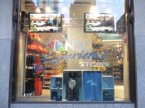 Tiendas y lugares frikis en Nueva York: NBC Experience Store