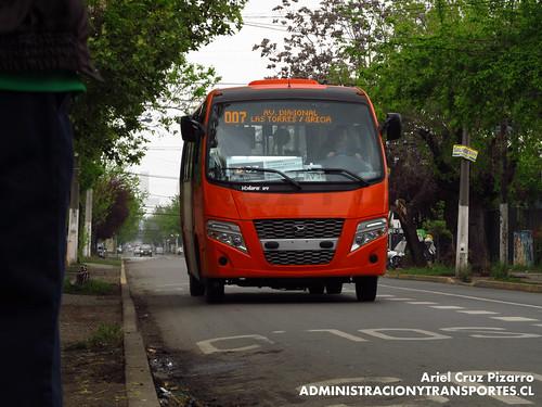 Transantiago - Express de Santiago Uno - Volare W9 / Agrale (CJRV36)