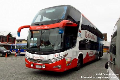 Queilen Bus - Castro - Marcopolo Paradiso 1800 DD / Mercedes Benz (FXZX17)