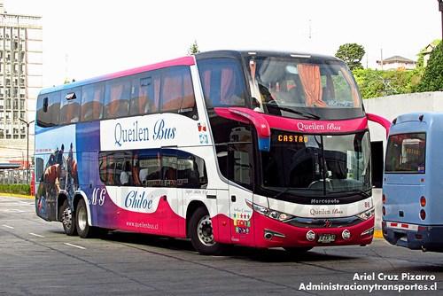 Queilen Bus - Puerto Montt - Marcopolo Paradiso 1800 DD / Mercedes Benz (FXZX15)