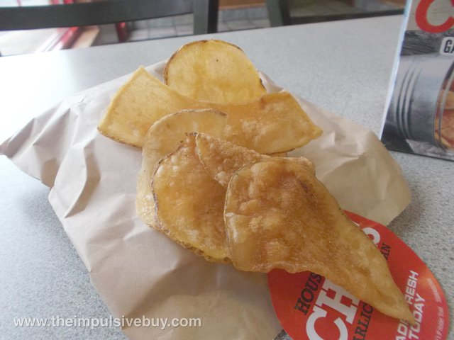 Arby's Garlic Parmesan Housemade Chips 2