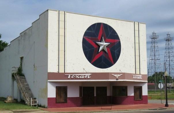 Texan Theater - Kilgore, Texas U.S.A. - April 22, 2015