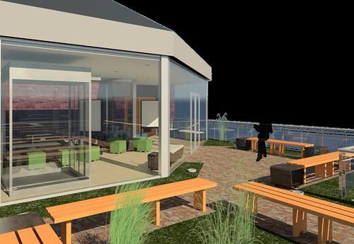 Green Roof Render