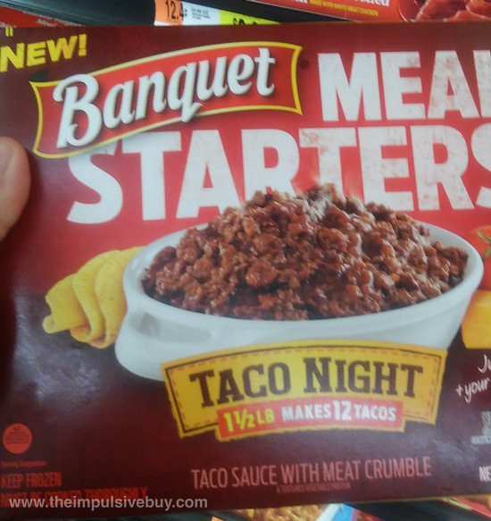 Banquet Meal Starters Taco Night