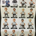 LEGO 71014 DFB German National Football Team liste