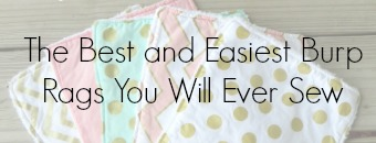 best and easiest burp rags