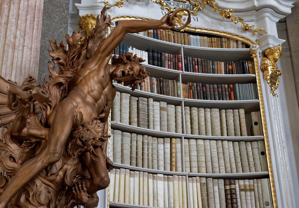 The Baroque Library of the Admont Abbey