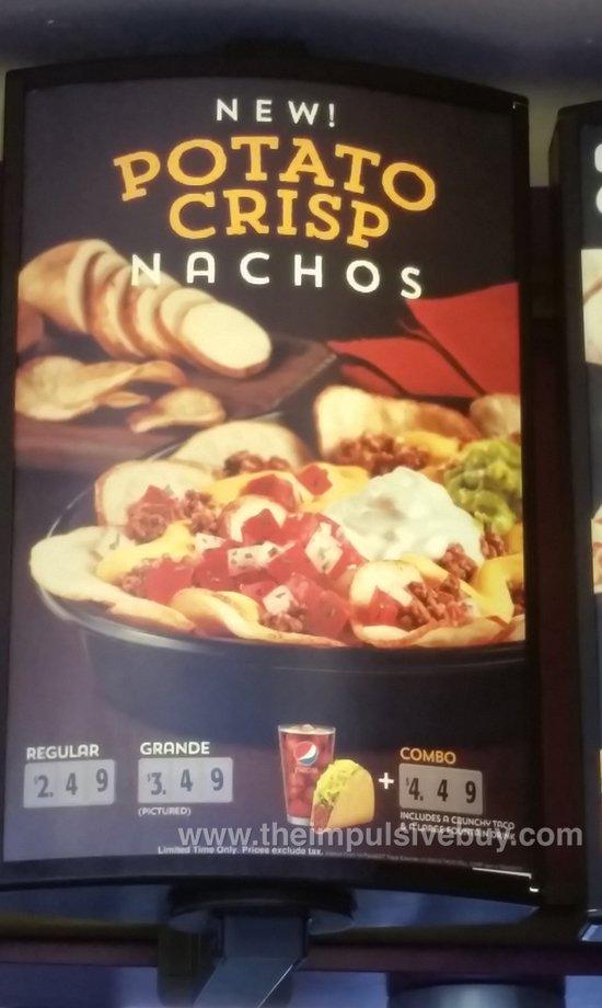 Taco Bell Potato Crisp Nachos