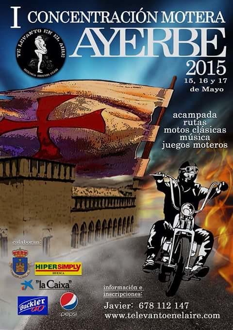 I Concentración Motera Ayerbe - Huesca