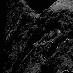 Comet 67P from a distance of 29km