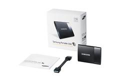 Samsung Portable SSD T1 - Verpakking en Inhoud