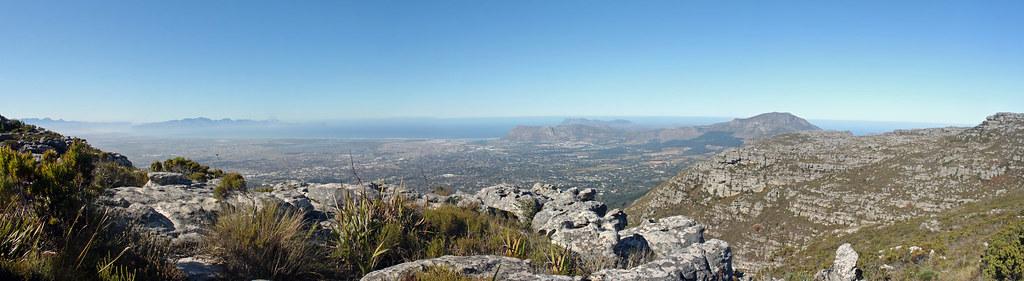 Udsigt fra Table Mountain