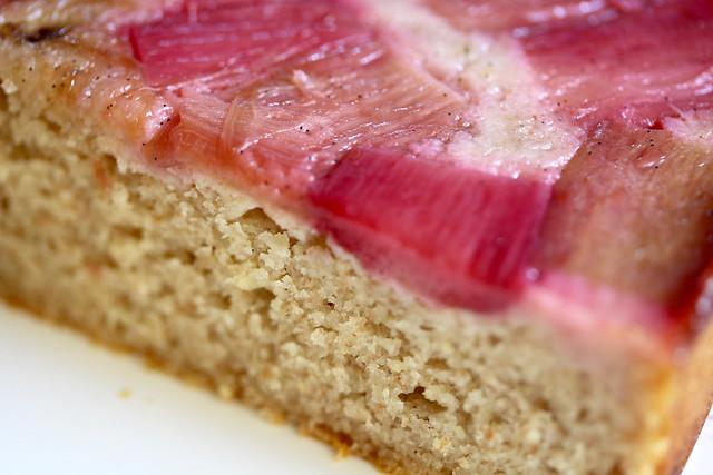 Rye & Rhubarb Cake - 49