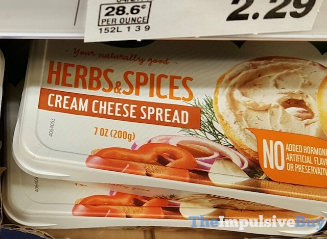 Arla Herbs & Spices Cream Cheese Spread