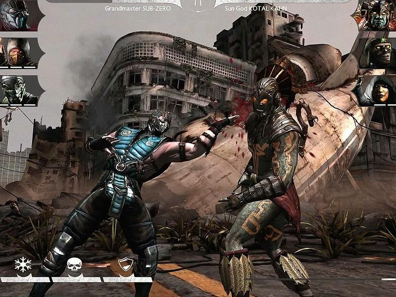 Mortal Kombat X Android juegos