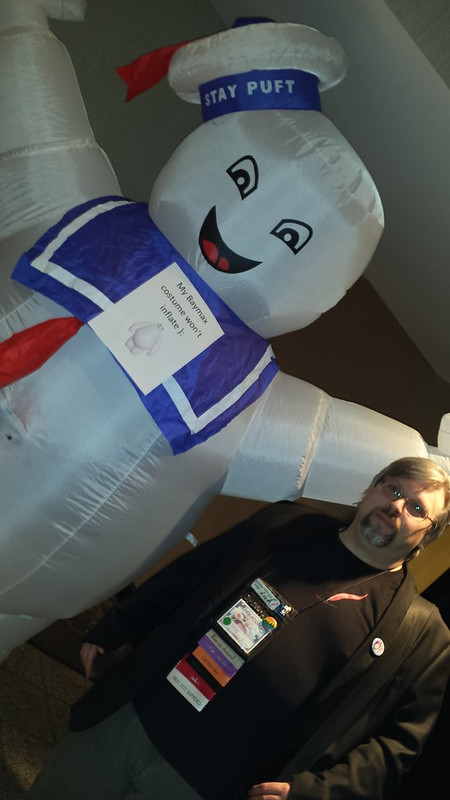 Me and...Baymax? #penguicon