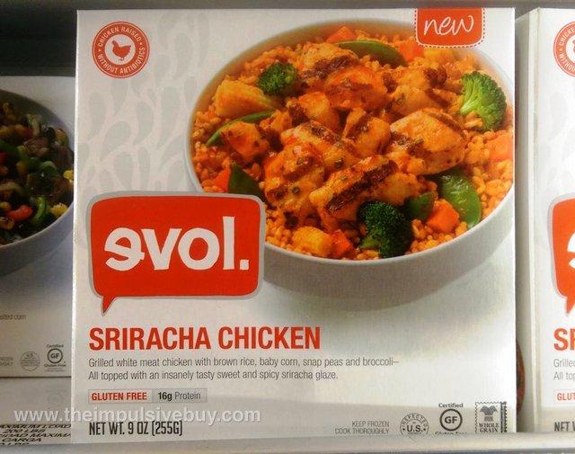 evol Sriracha Chicken