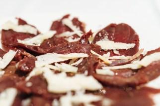 Smoked venison & Parmigiano