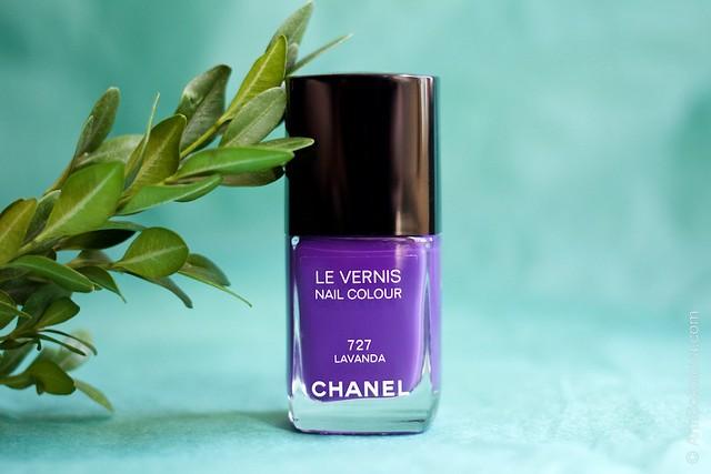 08 Chanel #727 Lavanda swatches