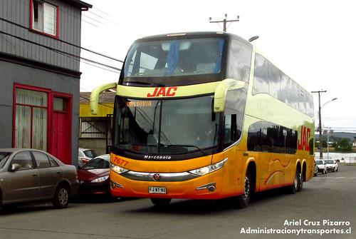 JAC - Valdivia - Marcopolo Paradiso 1800 DD / Mercedes Benz (FJWT82)