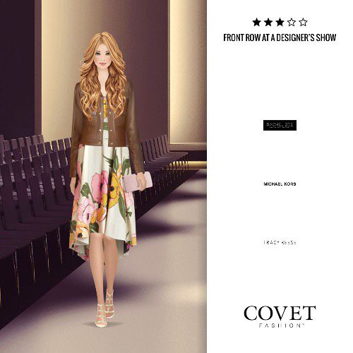 Front Row At A Designer S Show Covetfashion Https T Co Hyk7bnvkfx Paper Doll Book