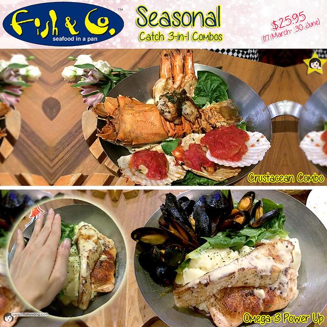 Fish Co Seasonal Catch 3-in-1 combo