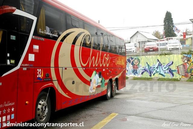 Queilen Bus (32) - Ancud (Chiloé) - Mascarello Roma 370 / Mercedes Benz (FRRR73)