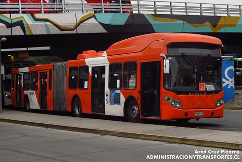 Transantiago - Express de Santiago Uno - Busscar Urbanuss / Volvo (ZN6529)