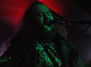 Dave Briggs of Rule Of Six at Limelight, Belfast, 2 May 2015