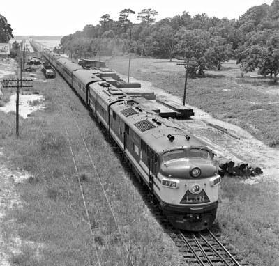 L&N, Ocean Springs, Mississippi, 1955