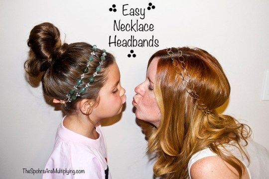 Easy Necklace Headband