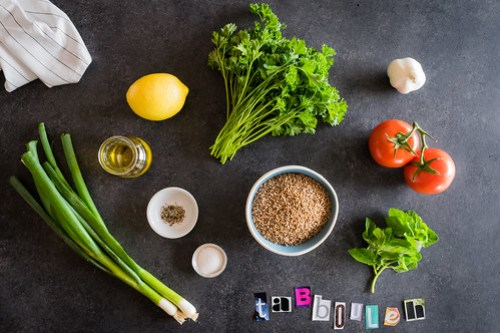 all these ingredients get mixed in one bowl