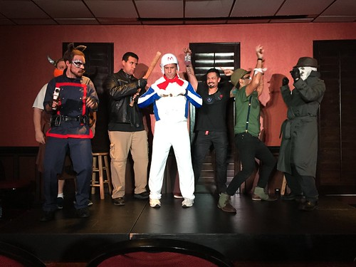 Free Comic Book Day and ImprovCity's Comic Book Day show!