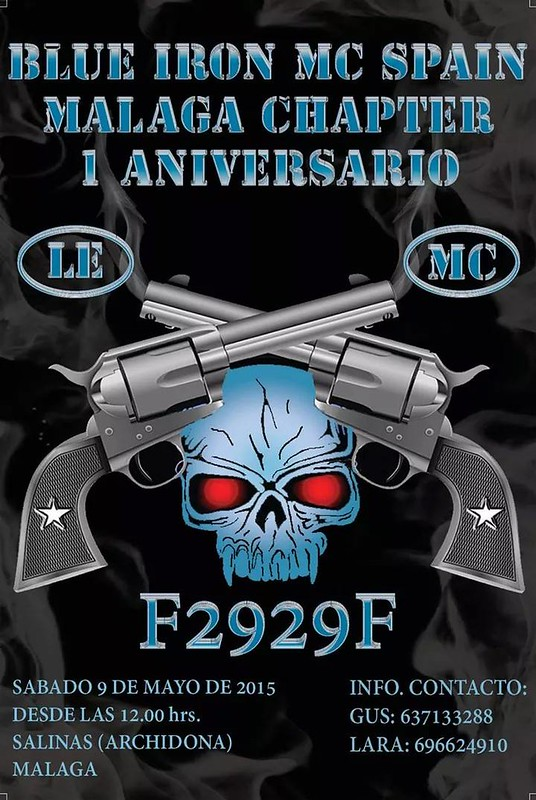 I Aniv. Blue Iron MC Málaga Chapter