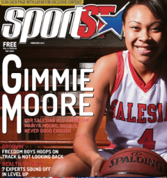 Mariya Moore on the cover of #80 (Feb. 2014)