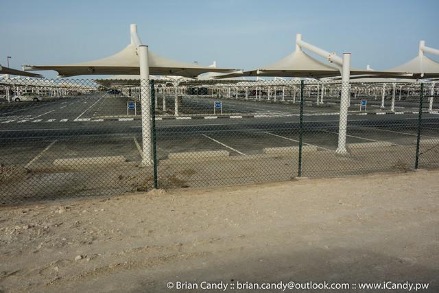 Empty HIA Long Stay Car Park