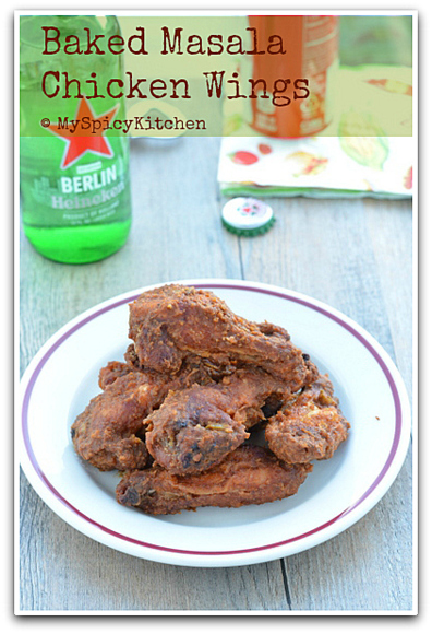 Blogging Marathon, Baking Marathon, FireUpYourOven, Chicken Wings