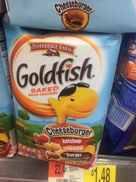 Pepperidge Farm Cheeseburger Goldfish Crackers
