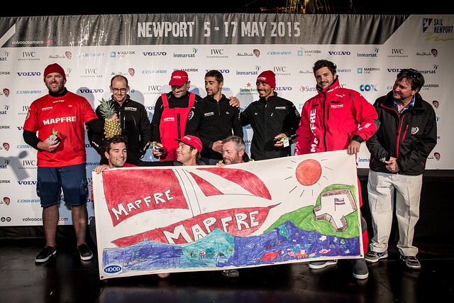 """MAPFRE"" FOURTH INTO NEWPORT, TWO MILES OFF THE PODIUM"