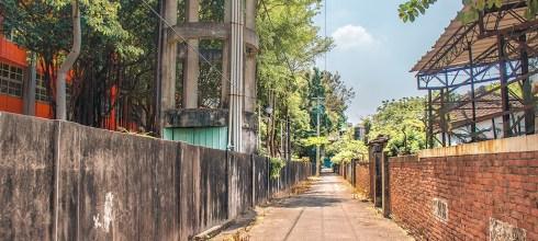 【台中】。台中潭子彩繪巷「潭子國小日式校舍」!這裡不是景點是在地人的回憶「潭子農會穀倉」