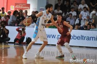 Cremona - Reyer: Luca Vitali vs Michele Ruzzier