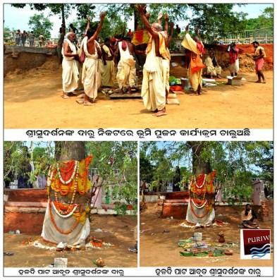 Bhumipujan at Gadakantunia village near Balakati in Khordha district :: Sudarshana Daru