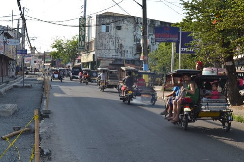 Triciclos en Tagaytay