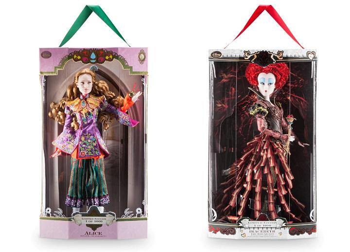 liisan seikkailut peilimaassa nuket