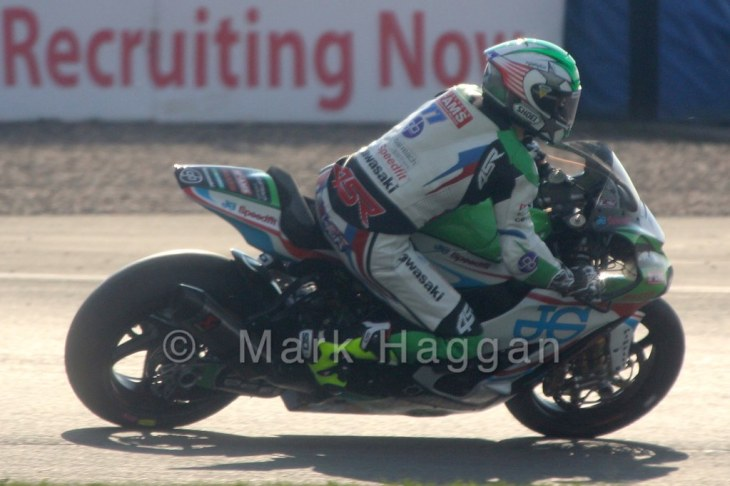 James Ellison in qualifying during the BSB Weekend at Donington Park, April 2015